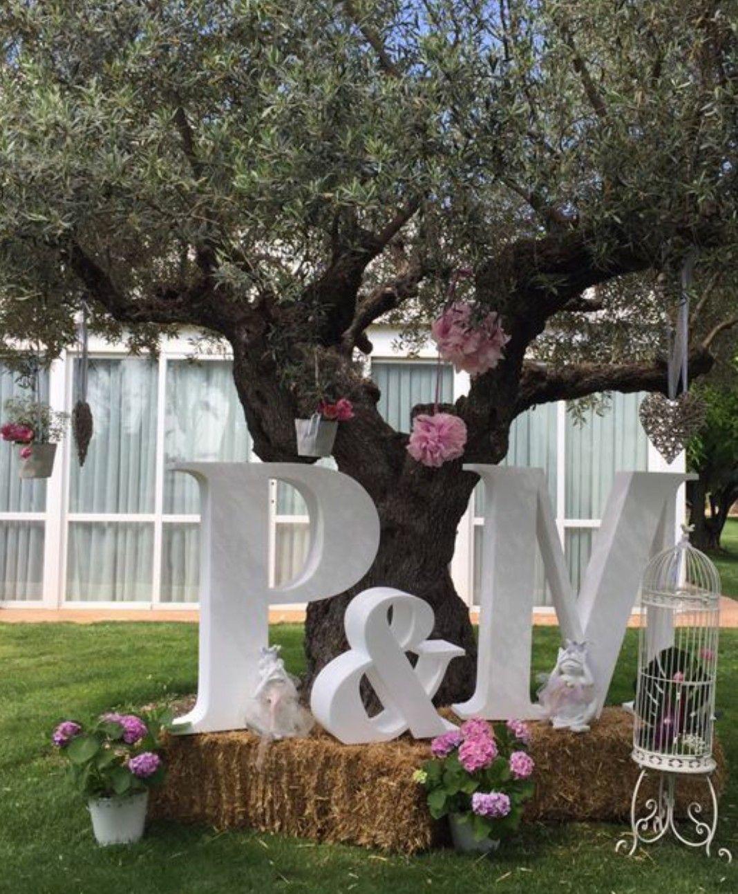 letras grandes para boda