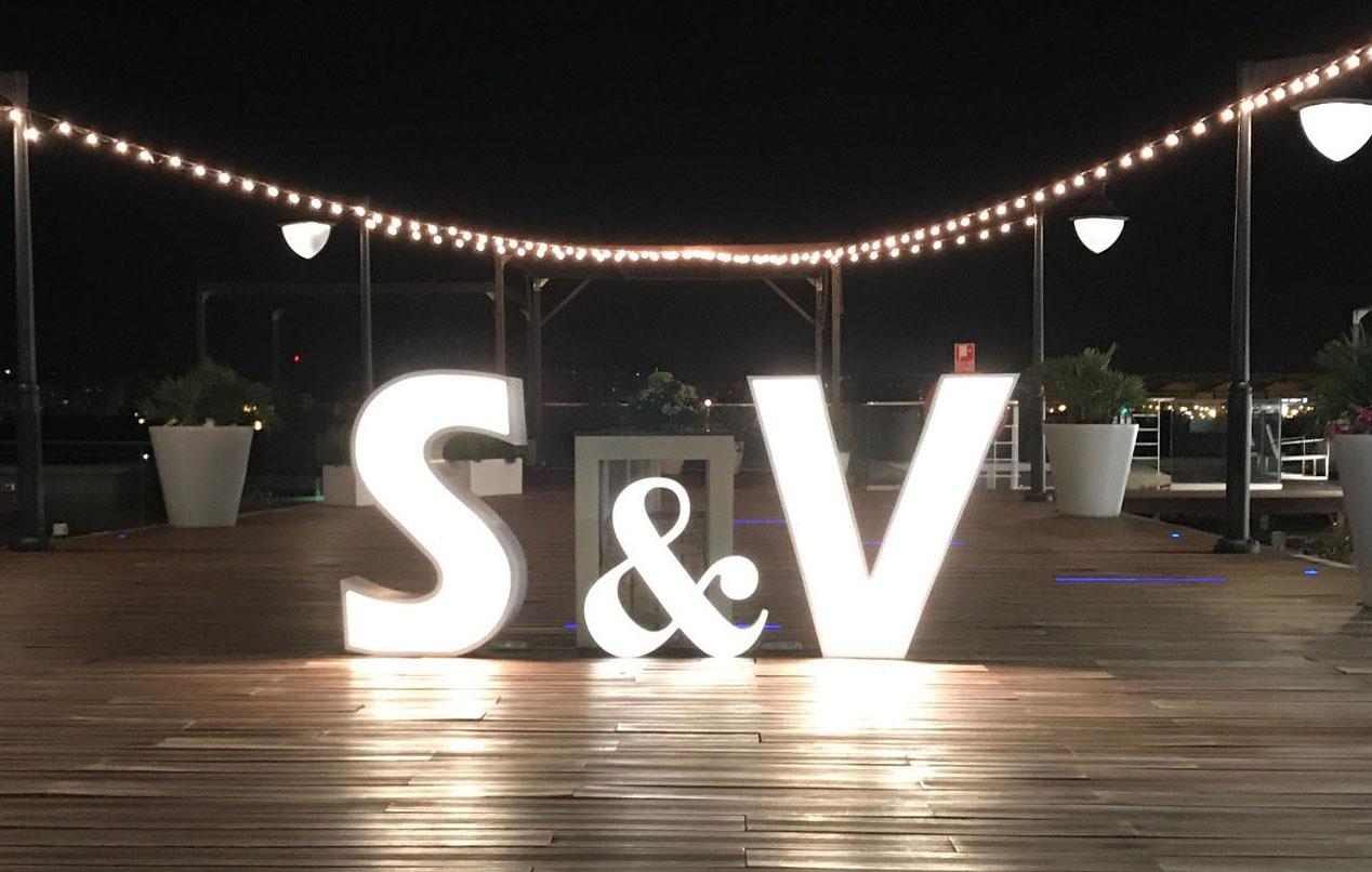 letras grandes para bodaa