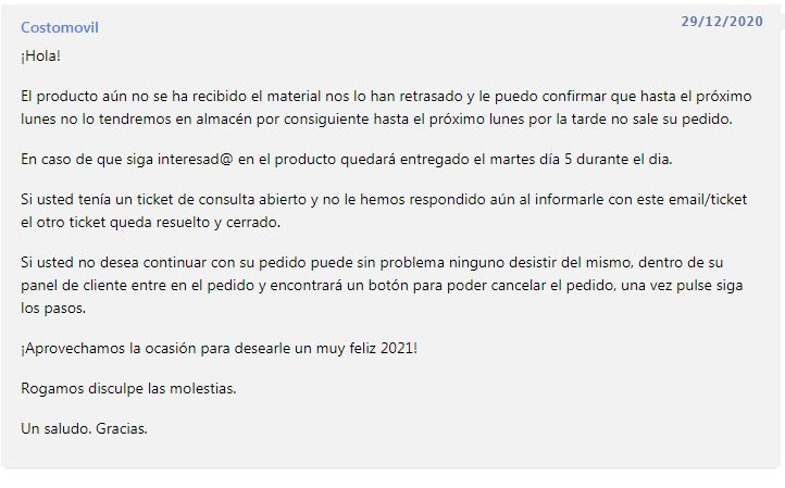 opiniones costomovil 2021